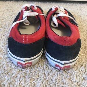 bd95158c9ea831 Vans Shoes - Vans like new red and black sneakers